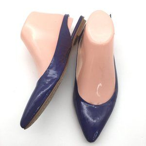 Boden sling back flats patent leather 8.5
